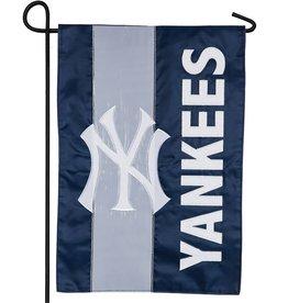 EVERGREEN New York Yankees Stripe Garden Flag