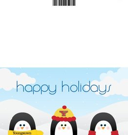 Youngstown State Penguins 10-Pack Penguins Holiday Greeting Cards