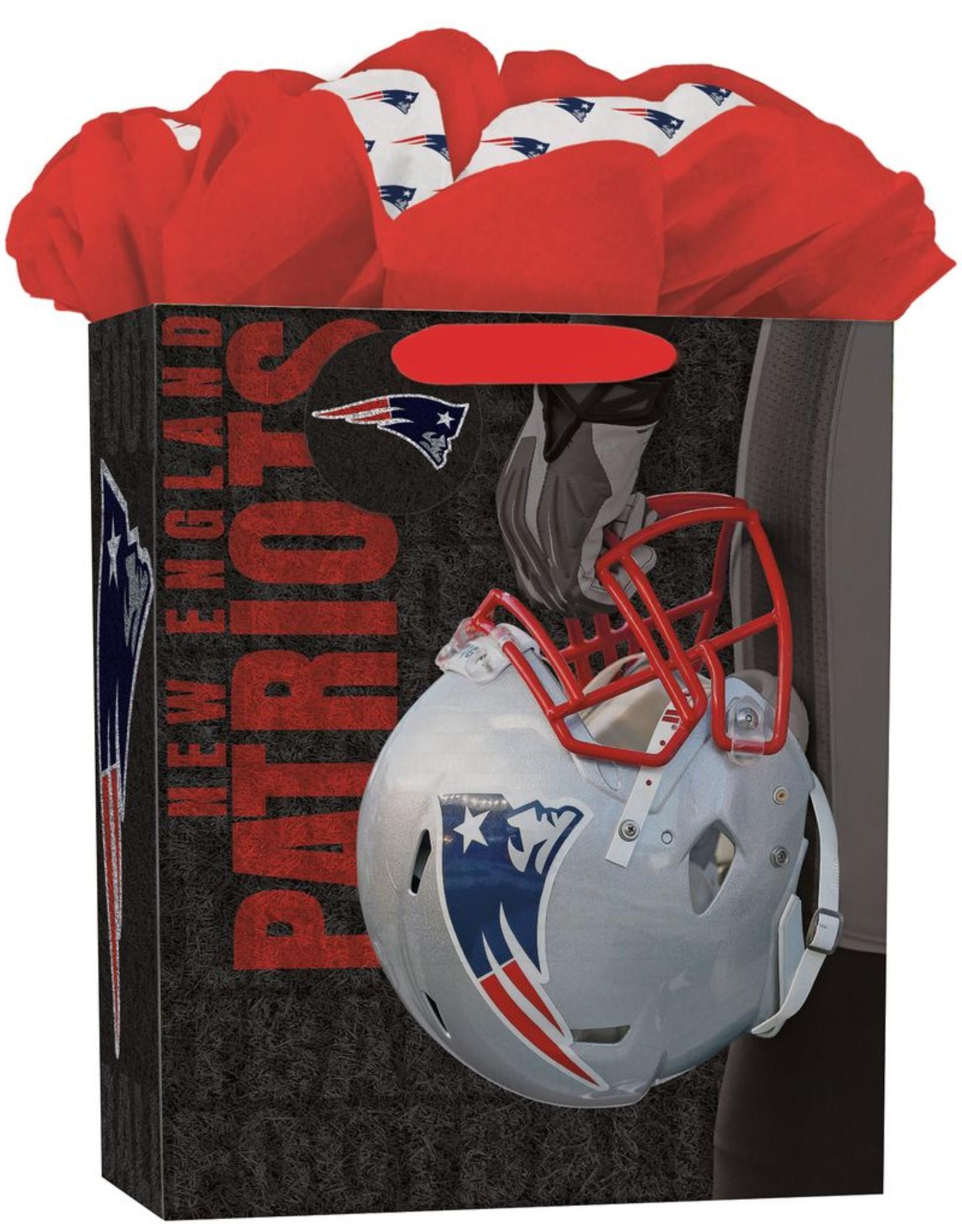 JF TURNER & CO New England Patriots Large GoGo Gift Bag