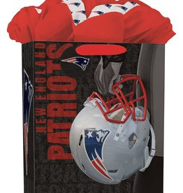 JF TURNER & CO New England Patriots Large GoGo Gift Bag