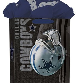 JF TURNER & CO Dallas Cowboys Large GoGo Gift Bag