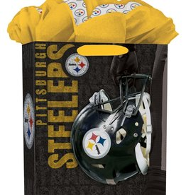 JF TURNER & CO Pittsburgh Steelers Large GoGo Gift Bag