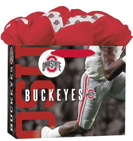 JF TURNER & CO Ohio State Buckeyes Medium GoGo Gift Bag