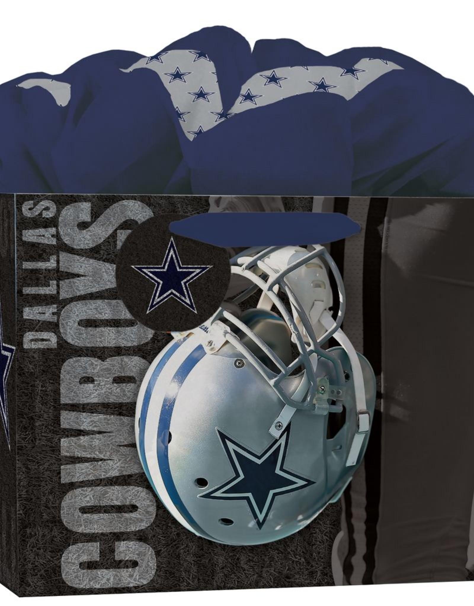 JF TURNER & CO Dallas Cowboys Medium GoGo Gift Bag