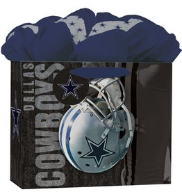 JF TURNER & CO Dallas Cowboys Medium GoGo Gift Bag