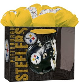 JF TURNER & CO Pittsburgh Steelers Medium GoGo Gift Bag