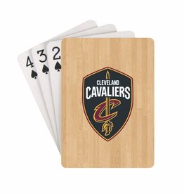 PRO SPECIALTIES GROUP Cleveland Cavliers Steel Grid Playing Cards