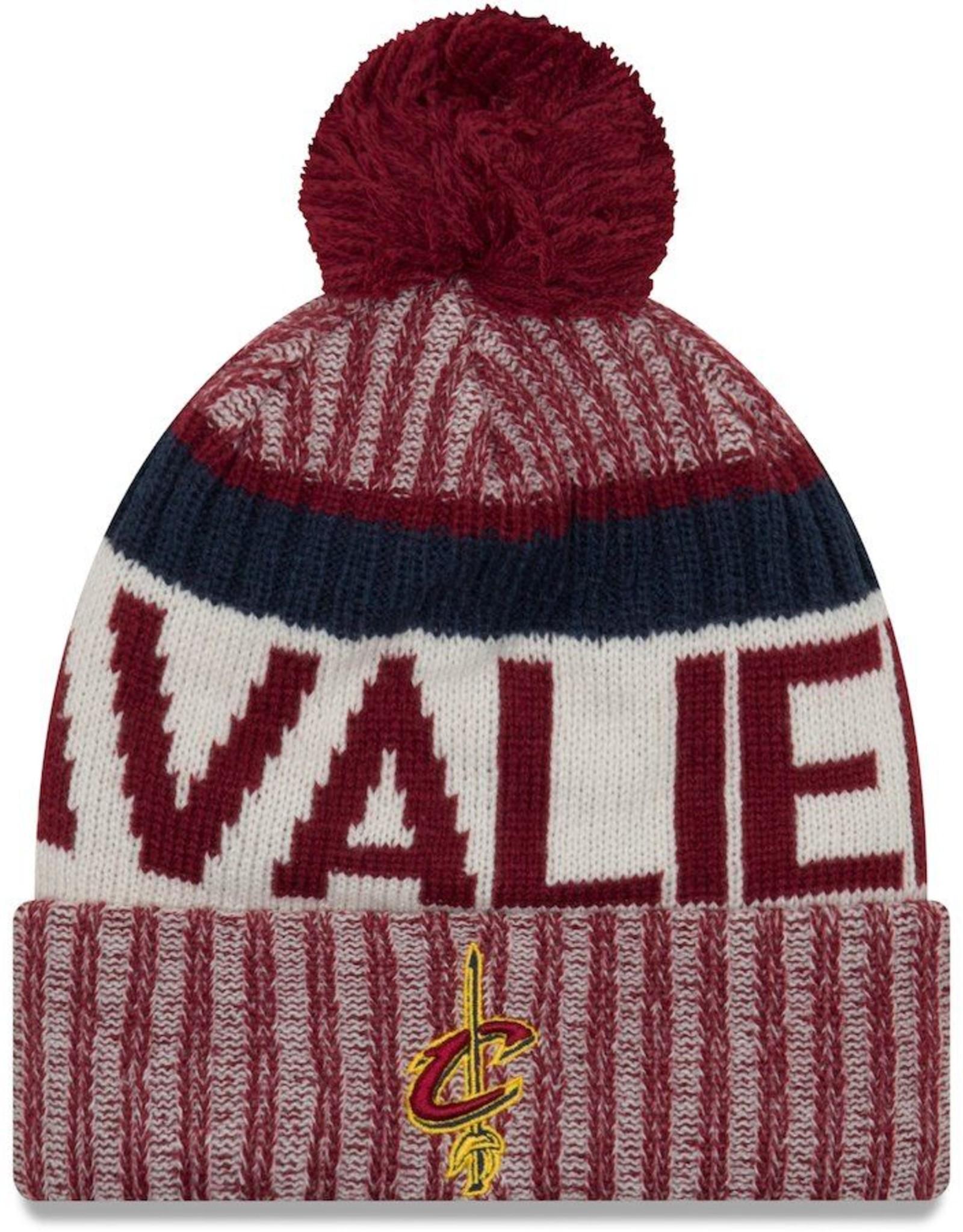 NEW ERA Cleveland Cavaliers New Era NE17 Sport Knit Hat