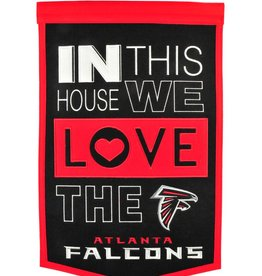 WINNING STREAK SPORTS Atlanta Falcons In this House Love Banner