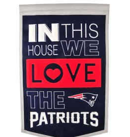 WINNING STREAK SPORTS New England Patriots In this House Love Banner