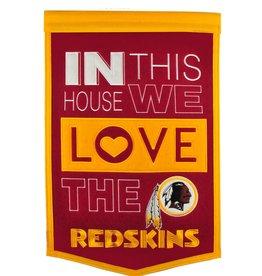 WINNING STREAK SPORTS Washington Redskins In this House Love Banner