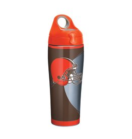 TERVIS Cleveland Browns 24oz TERVIS Rush Stainless Steel Water Bottle