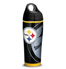TERVIS Pittsburgh Steelers 24oz TERVIS Rush Stainless Steel Water Bottle