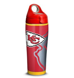TERVIS Kansas City Chiefs 24oz TERVIS Rush Stainless Steel Water Bottle