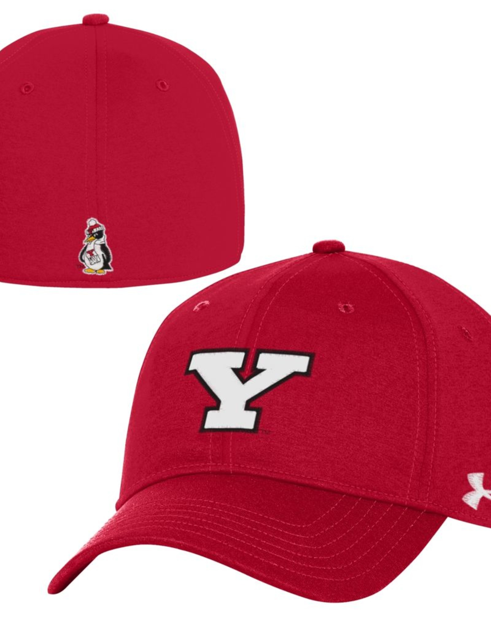 UNDER ARMOUR Youngstown State Penguins Under Armour Threadborne Closer Stretch Fit Cap