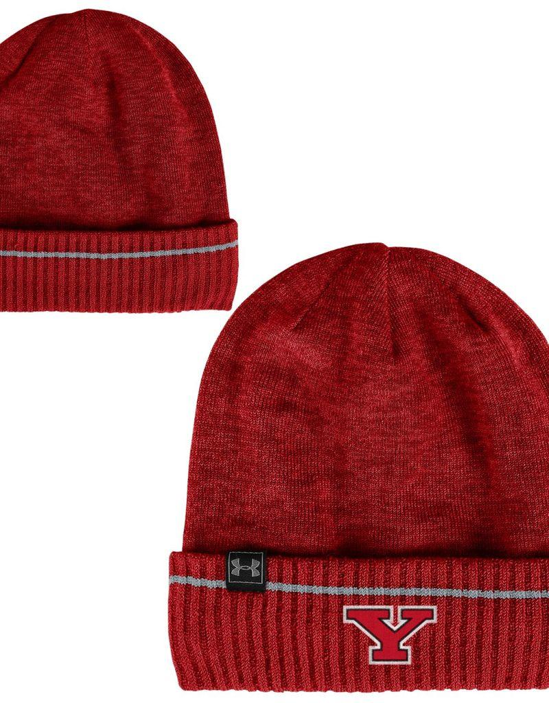67b775633cc ... cheap under armour youngstown state penguins under armour sideline  cuffed beanie knit hat cce55 9a9d0