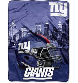 NORTHWEST New York Giants 60in x 80in Silk Touch Throw Wrap