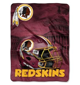 NORTHWEST Washington Redskins 60in x 80in Silk Touch Throw Wrap