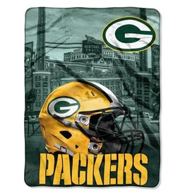 NORTHWEST Green Bay Packers 60in x 80in Silk Touch Throw Wrap