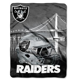 NORTHWEST Oakland Raiders 60in x 80in Silk Touch Throw Wrap