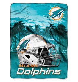 NORTHWEST Miami Dolphins 60in x 80in Silk Touch Throw Wrap