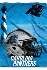 NORTHWEST Carolina Panthers 60in x 80in Silk Touch Throw Wrap