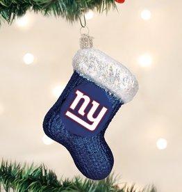OLD WORLD CHRISTMAS New York Giants Stocking Ornament