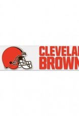 "WINCRAFT Cleveland Browns 4""x17"" Perfect Cut Decals"