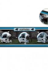 """Carolina Panthers 9""""x30"""" Wood Sign"""