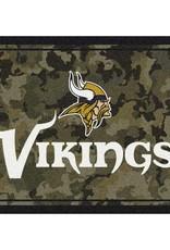 """MILLIKEN Minnesota Vikings Milliken 46"""" x 64"""" Camo Area Rug"""