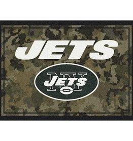 "MILLIKEN New York Jets Milliken 46"" x 64"" Camo Area Rug"