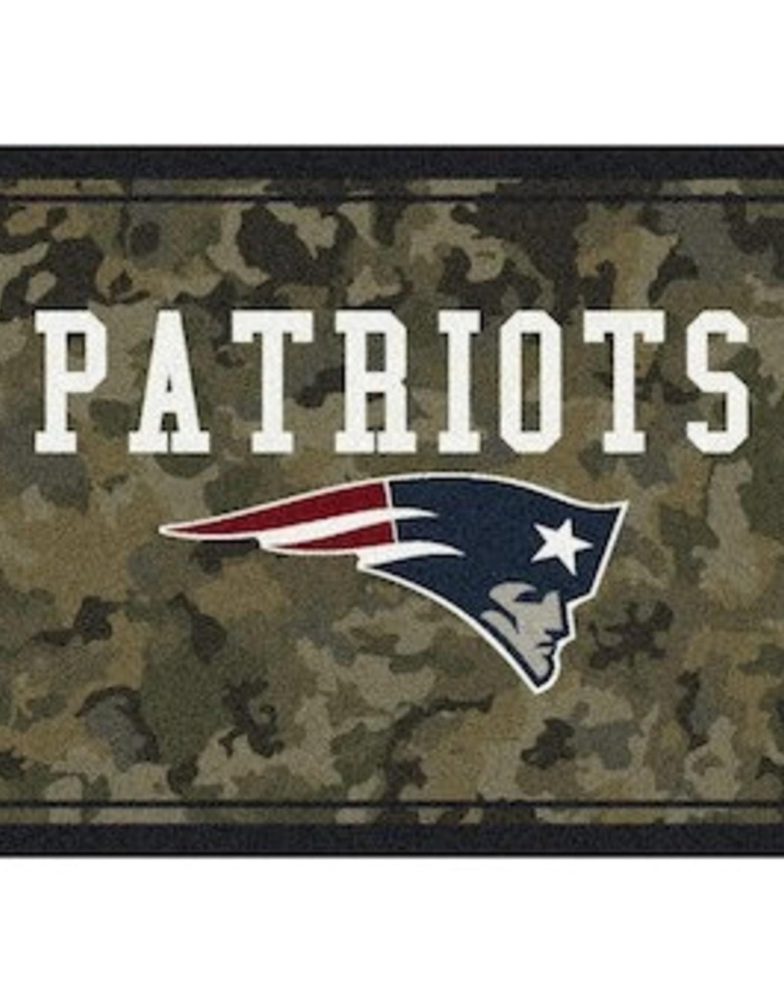 "MILLIKEN New England Patriots Milliken 46"" x 64"" Camo Area Rug"