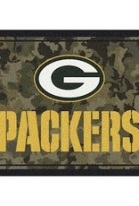 "MILLIKEN Green Bay Packers Milliken 46"" x 64"" Camo Area Rug"