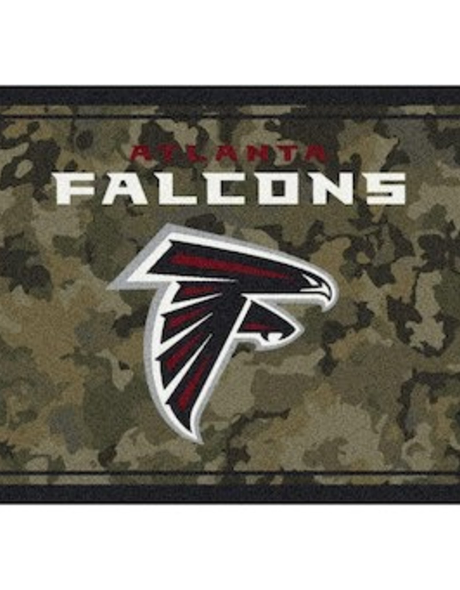 "MILLIKEN Atlanta Falcons Milliken 46"" x 64"" Camo Area Rug"