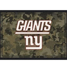 "MILLIKEN New York Giants Milliken 46"" x 64"" Camo Area Rug"