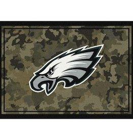 "MILLIKEN Philadelphia Eagles Milliken 46"" x 64"" Camo Area Rug"