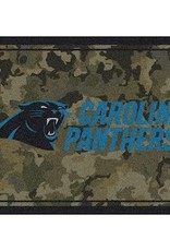 "MILLIKEN Carolina Panthers Milliken 46"" x 64"" Camo Area Rug"