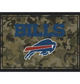 "MILLIKEN Buffalo Bills Milliken 46"" x 64"" Camo Area Rug"