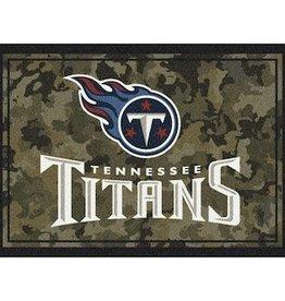 """MILLIKEN Tennessee Titans Milliken 46"""" x 64"""" Camo Area Rug"""
