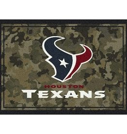 "MILLIKEN Houston Texans Milliken 46"" x 64"" Camo Area Rug"