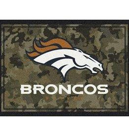 "MILLIKEN Denver Broncos Milliken 46"" x 64"" Camo Area Rug"
