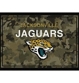 "MILLIKEN Jacksonville Jaguars Milliken 46"" x 64"" Camo Area Rug"