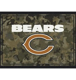 "MILLIKEN Chicago Bears Milliken 46"" x 64"" Camo Area Rug"