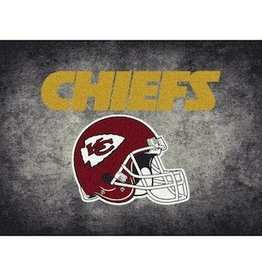 "MILLIKEN Kansas City Chiefs 46"" x 64"" Distressed Area Rug by Milliken"
