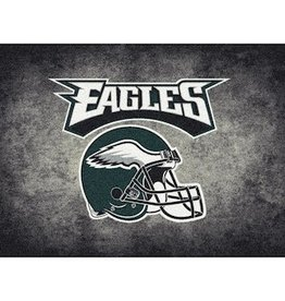 "MILLIKEN Philadelphia Eagles 46"" x 64"" Distressed Area Rug by Milliken"