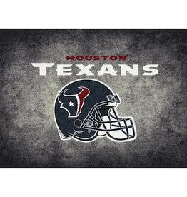 "MILLIKEN Houston Texans 46"" x 64"" Distressed Area Rug by Milliken"