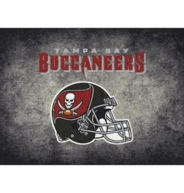 "MILLIKEN Tampa Bay Buccaneers 46"" x 64"" Distressed Area Rug by Milliken"