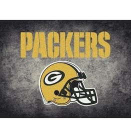 "MILLIKEN Green Bay Packers 46"" x 64"" Distressed Area Rug by Milliken"