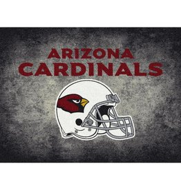 "MILLIKEN Arizona Cardinals 46"" x 64"" Distressed Area Rug by Milliken"