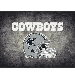 "MILLIKEN Dallas Cowboys 46"" x 64"" Distressed Area Rug by Milliken"